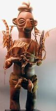 Original Power Figure Wood Fetish African Bateke Classical Yaka Statue Drcongo