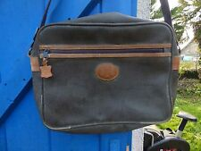 sac porté épaule  Didier Lamarthe  en toile cuir marron