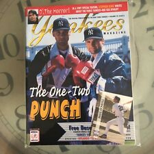 Yankees Magazine The One-Two Punch Knoublach Jeter 1998 Volume 19 Issue 6