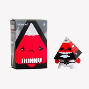 Kidrobot Pyramidun Red Dunny by Andrew Bell