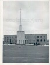 1967 Press Photo Saint Jerome Church Weymouth Massachusetts