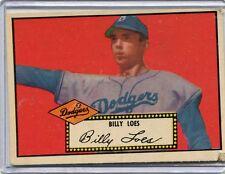 1952 Topps Baseball Card ROOKIE Billy Loes Brooklyn Dodgers Corners B/B VG # 20
