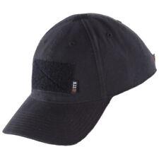 37f85805bc3 5.11 Tactical Flag Bearer Cap Adjustable Hook   Loop Patch Hat Black Free  Ship