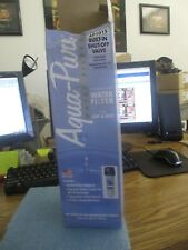 Aqua-Pure: AP101S Water Filter with AP110 Cartridge,  New Old Stock <