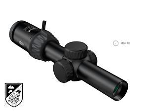 Meopta Zielfernrohr Optika6 1-6x24 RD SFP Leuchtabsehen K-Dot RD 2 Bildebene