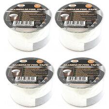 4 Pack 2 X 16 Ft Aluminum Foil Tape Hvac Ac Heating Sealing Shield