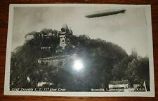 AK Karte Luftschiff Zeppelin Graf LZ 127 über Graz Bromsilber (27214