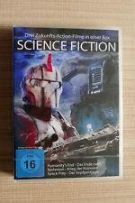 Science Fiction  ? 3 Filme in einer Box ? 254 Min. ?neu (Folie)