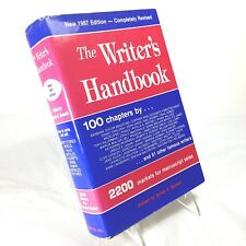 Writer's Handbook 1987 Vintage reference authors markets professional advice