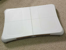 Genuine Nintendo Wii White Balance Board With Wii Fit + Fit Plus Excerise Games