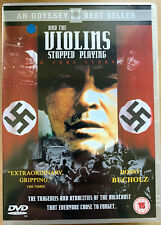 And the Violins Stopped Playing DVD 1988 World War II WW2 Holocaust Drama Movie