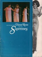 DIANA ROSS AND THE SUPREMES 1968 LOVE CHILD TOUR CONCERT PROGRAM BOOK / GD 2 EX