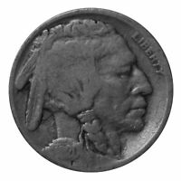 1920 -S Buffalo Nickel 5c Cent Almost Good AG Condition