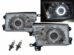 4Runner N180 MK3 95-02 Guide LED Halo Projector Headlight CH V2 for TOYOTA LHD