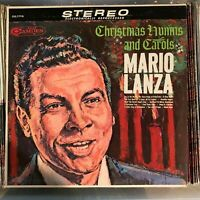 Mario Lanza - Christmas Hymns & Carols vintage 1963 RCA vinyl stereo LP -Italian