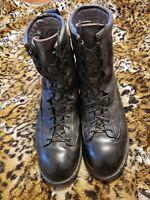 Matterhorn GoreTex Vibram Black Leather US Military Motorcycle Boots Size 10.5R
