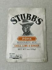Stubbs Texas Pork marinade Chilli Lime and Ginger BB4 March 2022 from USA