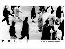 PARIS Film Raymond DEPARDON Photographe Foule Gare Saint-Lazare Photo 1997