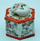 Ancien Encrier A Restaurer Porcelaine Chine  Asie Collection Ecriture Encre