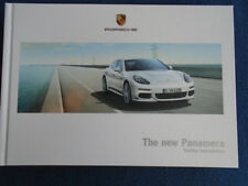 Porsche Panamera GAMA FOLLETO ABRIL 2013 hardbacked