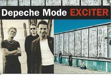 Depeche Mode, Exciter; Pr Postcard