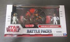 Ambush at Abregado STAR WARS Battle Pack Packs The Clone Wars TCW Target MIB