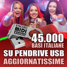 45.000 BASI ITALIANE MIDI con testo per KARAOKE AGGIORNATISSIME 2018 MID KAR