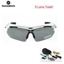Genuine RockBros Cycling Sports Glass Polarized Sunglasses Goggles Eyewear