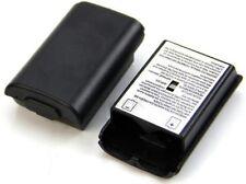 Cache Piles NOIR de Remplacement pour Manette Xbox 360- Boitier Batterie Support