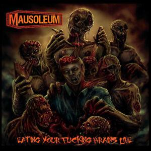 MAUSOLEUM - Eating Your Fucking Brains LIVE [DigiPak]