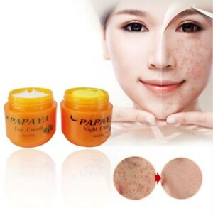 Papaya Whitening Cream for Face Anti Freckle 20g Day cream + 20g Night Cream