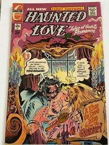 Haunted Love #1 Bronze Age Charlton Comics 1973