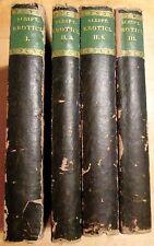 SCRIPTORES EROTICI GRAECI 4 Vols. 1792 -94  XENOPHON, LONGUS, ACHILLES TATIUS ..