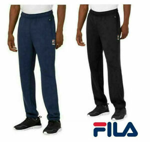 Fila Mens Active Track Pants Sweatpants Logo with Pockets