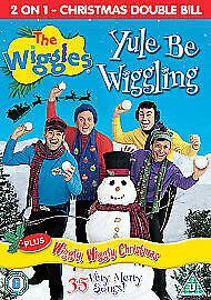 The Wiggles - Yule Be Wiggling / Wiggly Wiggly Christmas (DVD, 2005)b/n sealed