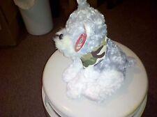 Kids' Stuff Plush Grey & White Puppy With Camo Bandana