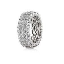 CERTIFIED 7.00CT ROUND DIAMOND 14K WHITE GOLD  WOMEN'S ANNIVERSARY BAND
