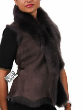 Leather Dry-clean Only Vests for Women