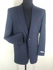 HICKEY FREEMAN  New  Made In USA  Sport Coat Linen-wool-silk- 2 Btn   43 Long