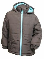 Unbranded Girls' Puffa Coats, Jackets & Snowsuits (2-16 Years) with Hooded