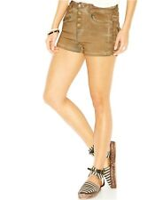 FREE PEOPLE LONE RANGER COATED SHORT CARSON BROWN BOHO FESTIVAL HIPPIE SIZE 24