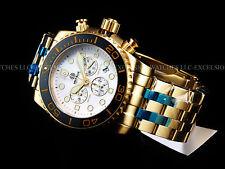 NEW Deep Blue Sea Ram Swiss Chrono Sapphire Crystal Black Ceramic Bezel Watch