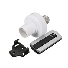 E27 Wireless Remote Control Light Lamp Bulb Base Cap Socket On/Off Switch