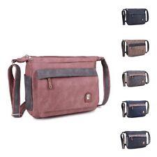 Ladies Multi Pocket Shoulder Bag Crossbody Bag Travel Bag Work Handbag M17656