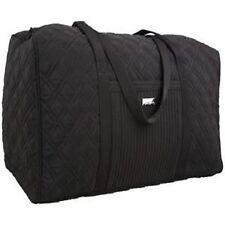 """VERA BRADLEY ~ """"Classic Black"""" ~ Large Duffle /Gym Bag ~ NWT"""