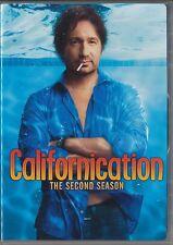 Californication - The Second Season (DVD, 2009, 2-Disc Set, Canadian)
