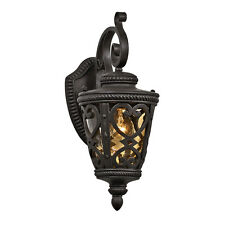 Outdoor Porch Patio Exterior Wall Lighting Sconce Light Fixture Marcado Lamp BLK