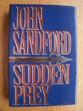John Sandford Sudden Prey SIGNED 1st ed HC Fine