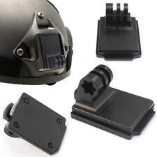 Casque fixe en aluminium pour caméra GOPRO Hero 3 Sport et base de montage Génia