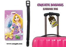 Etiquette bagage / luggage tag - disney raiponce tangled rapunzel 01-004